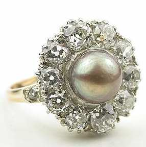 Antique Pearl Rings