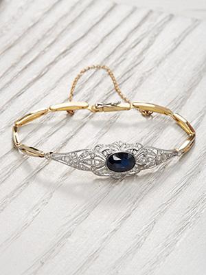 Vintage Sapphire Bracelet