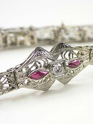 Antique Filigree Bracelet