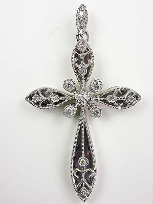 Filigree Vintage Cross