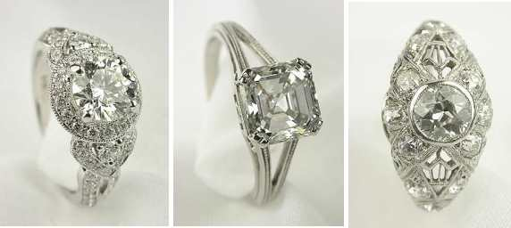 diamond engagement rings from