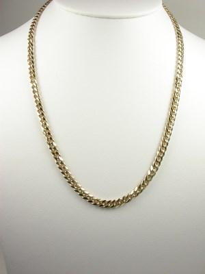 Gent's Gold Link Necklace