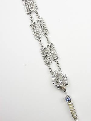 Edwardian Filigree Antique Necklace