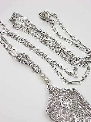 Filigree Vintage Necklace