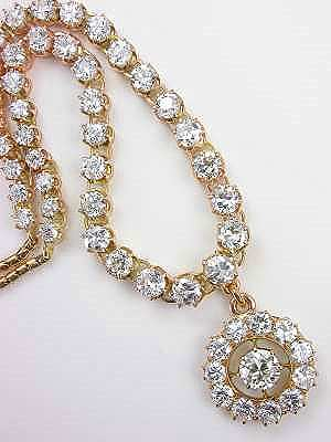 Victorian Antique Diamond Necklace