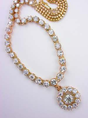 Victorian Antique Diamond Necklace