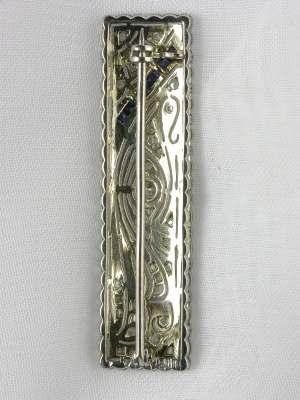 Edwardian Filigree Antique Pin