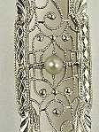 Krementz Antique  Edwardian Filigree Pin