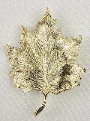 Tiffany Leaf Brooch
