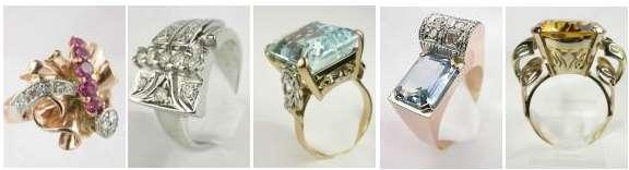 Retro Jewelry History