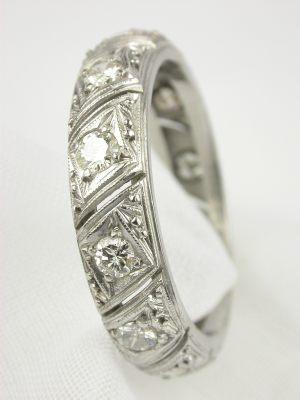 Vintage Wedding Rings Antique Wedding Rings Topazery