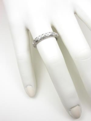 Art Deco Filigree Wedding Ring
