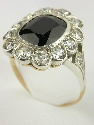Edwardian Antique Sapphire Engagement Ring