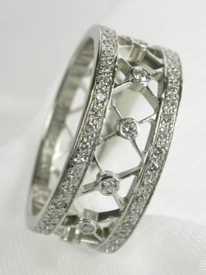 Tiffany Diamond Eternity Band