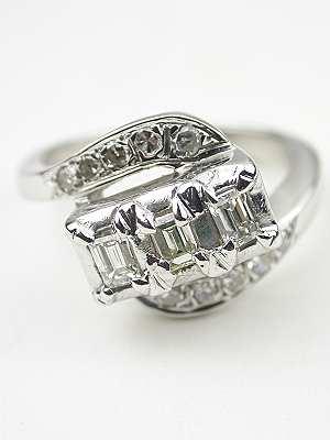 1950's Swirling Vintage Ring