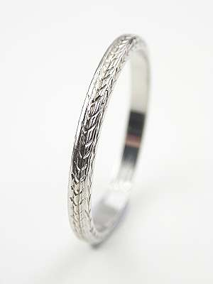 Belais Antique Wedding Ring