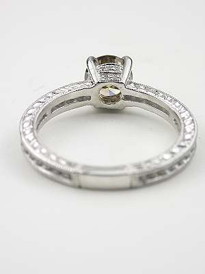 Timeless Champagne Diamond Engagement Ring