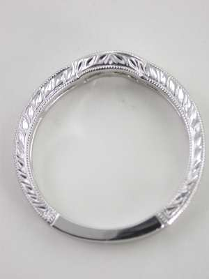 Curved Matching Wedding Ring