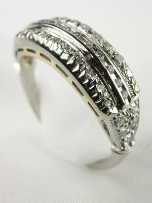 Classic  Diamond Wedding Ring from 1925