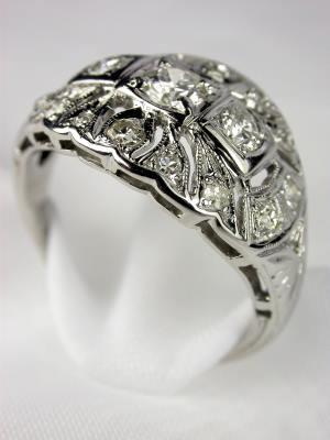 1930s Princess Wedding Ring