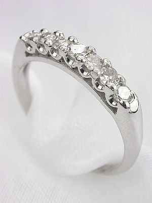 1940's Antique Diamond Wedding Ring