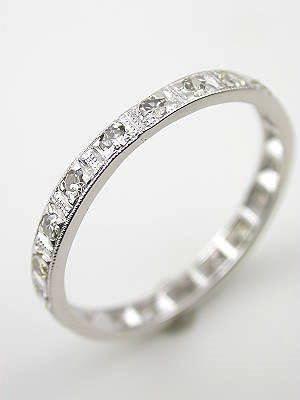 1930s Antique Diamond Wedding Ring