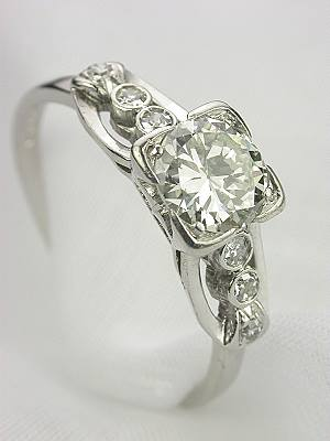 1930's Antique Diamond Engagement Ring