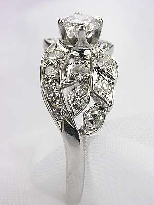 1950s Diamond Engagement Ring