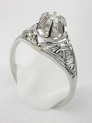 Antique Edwardian Diamond Engagement Ring