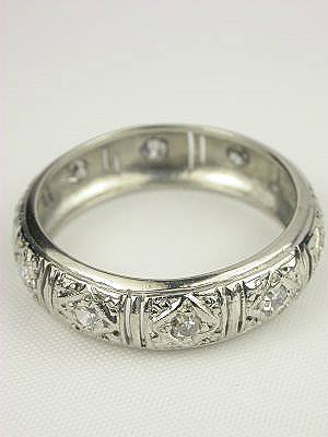 antique filigree and diamond wedding ring rg 2231 posted by admin