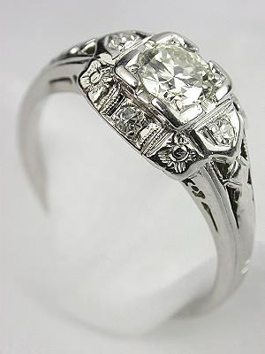 1930s Diamond Engagement Ring