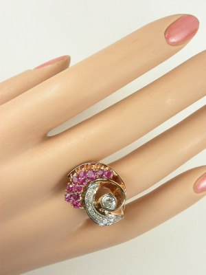 Vintage Ring in Rose Gold