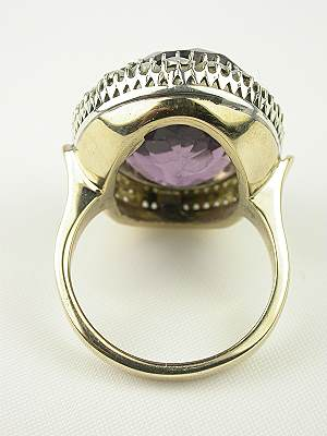 Vintage Amethyst Cocktail Ring