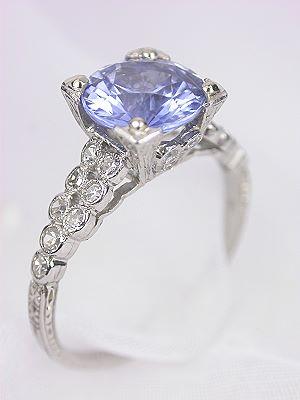 1925 Classic Antique Sapphire Engagement Ring