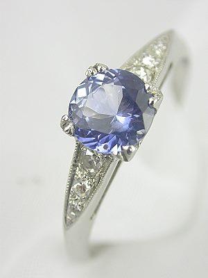 1925 Sapphire Antique Engagement Ring