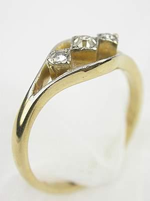 Edwardian Antique Diamond Engagement Ring