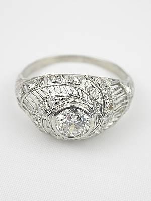 1930s Vintage Diamond Ring
