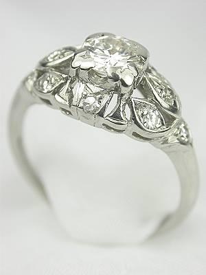 1920s Antique Diamond Engagement Ring