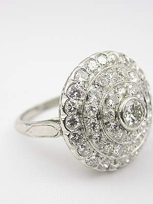 1930's Vintage Diamond Ring
