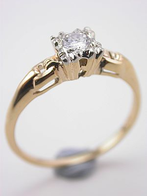 1930s Diamond Engagement Ring