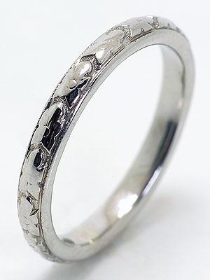 Orange Blossom Antique Wedding Ring