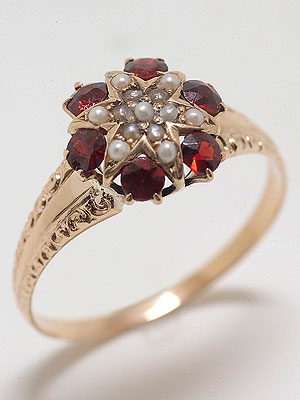 Rose Gold Victorian Antique Ring