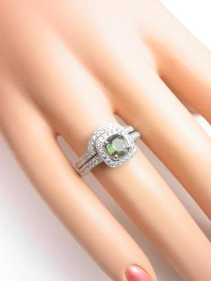 Curved Diamond Wedding Ring