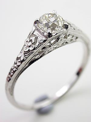 Old European Cut Diamond Engagement Rings