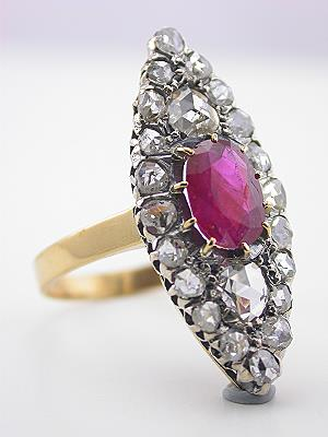 Antique Ruby Ring