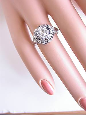 Art Deco Antique Engagment Ring