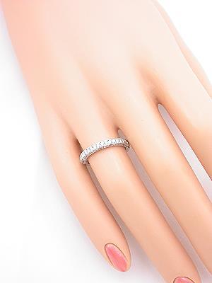 Filigree and Diamond Wedding Ring