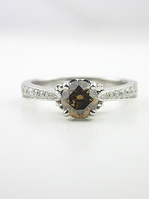 Fancy Colored Diamond Engagement Ring