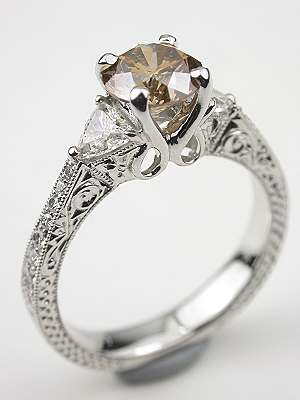 Diamond Engagement Ring from the Earth Collection