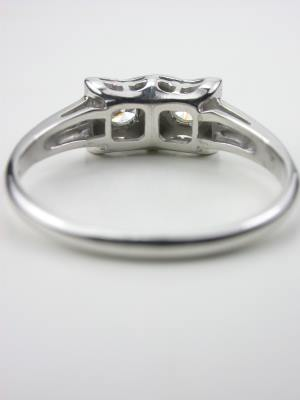 Retro  Vintage Wedding Ring